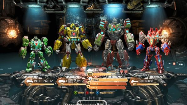 Transformers: Fall of Cybertron Demo Falls July 31st