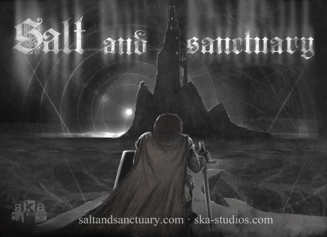 Salt and Sanctuary Postcard